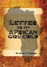 Letter to my African girl child cover