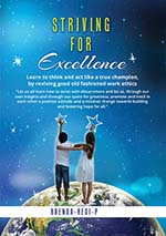 Striving for excellence cover